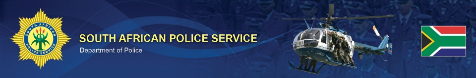 Services   SAPS  South African Police Service