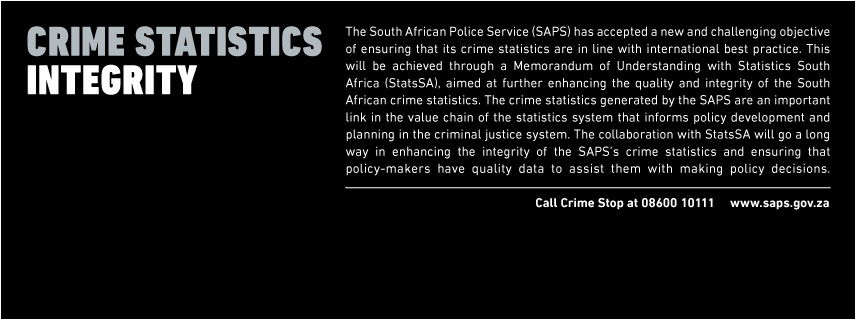 south african police service crime statistics
